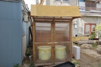 醤油の醪収納庫