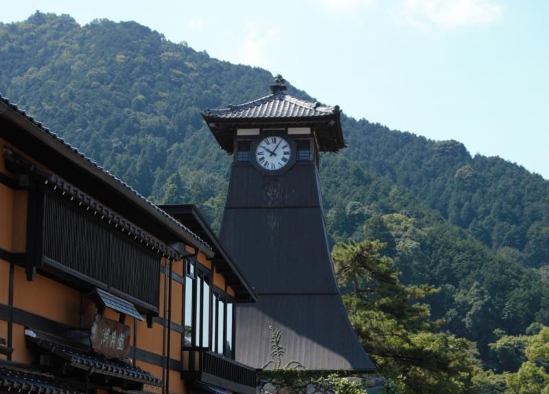 兵庫県、豊岡市、辰鼓楼、時計台