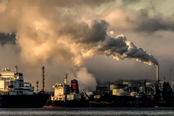 二酸化炭素、環境破壊